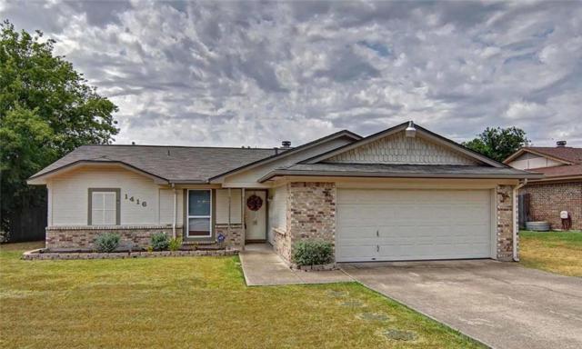 1416 Timbercrest Drive, Benbrook, TX 76126 (MLS #13910701) :: Team Hodnett
