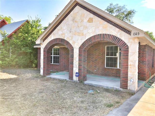 1323 S Marsalis Avenue, Dallas, TX 75216 (MLS #13911214) :: Team Hodnett