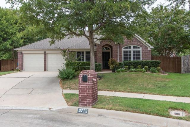 2712 Fordham Court, Flower Mound, TX 75022 (MLS #13911241) :: Team Hodnett