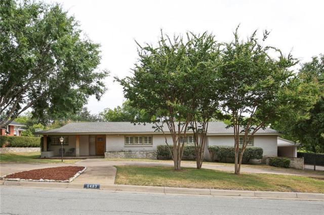 6483 Crestmore Road, Fort Worth, TX 76116 (MLS #13911589) :: Team Hodnett
