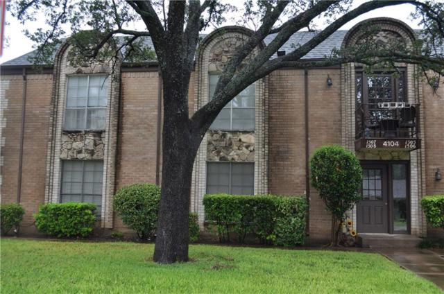 4104 Ridglea Country Club Drive #1506, Fort Worth, TX 76126 (MLS #13911981) :: Magnolia Realty