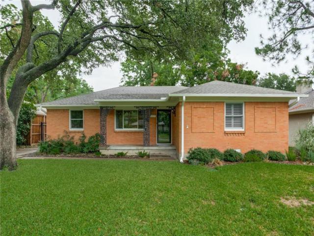 6803 Ravendale Lane, Dallas, TX 75214 (MLS #13912067) :: Team Hodnett
