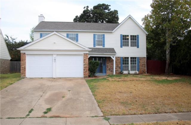 102 Wildbriar Street, Euless, TX 76039 (MLS #13912184) :: The Chad Smith Team