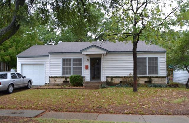 229 W 12th Street, Irving, TX 75060 (MLS #13912553) :: Team Hodnett
