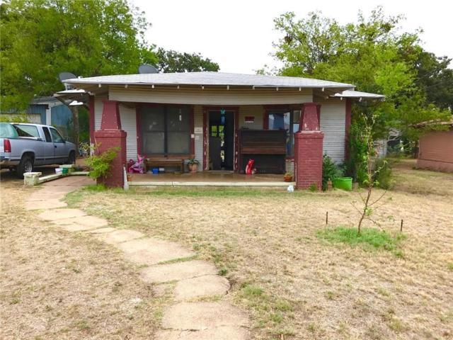 607 W 4th, Cisco, TX 76437 (MLS #13912592) :: Team Hodnett