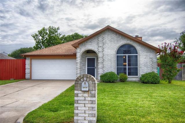 6406 Brookbriar Court, Arlington, TX 76018 (MLS #13912645) :: The Hornburg Real Estate Group