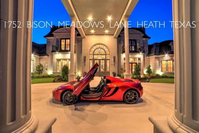 1752 Bison Meadow, Heath, TX 75032 (MLS #13912646) :: Team Hodnett