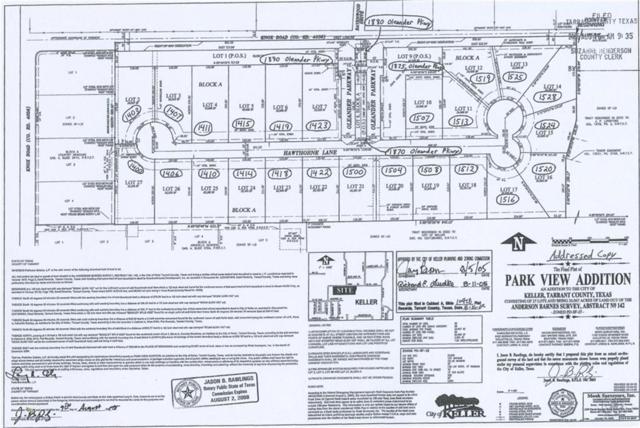 1415 Hawthorne Lane, Keller, TX 76262 (MLS #13912740) :: RE/MAX Town & Country
