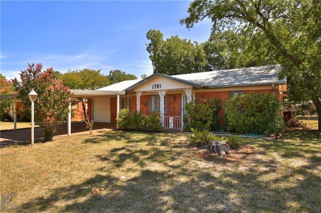 1701 Marsalis Drive, Abilene, TX 79603 (MLS #13912788) :: The Chad Smith Team