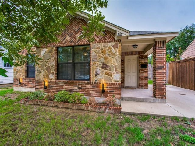1206 Melbourne Avenue, Dallas, TX 75224 (MLS #13913406) :: Team Hodnett