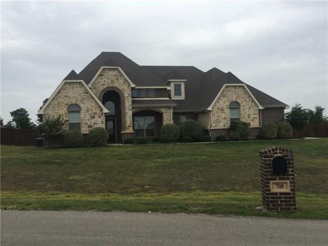 708 Red Stone Lane, Hudson Oaks, TX 76087 (MLS #13914046) :: The Gleva Team