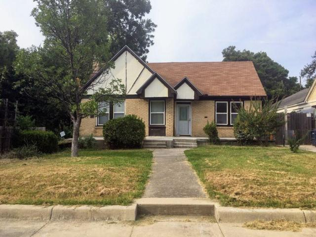 2709 Carter Avenue, Fort Worth, TX 76103 (MLS #13914083) :: RE/MAX Town & Country
