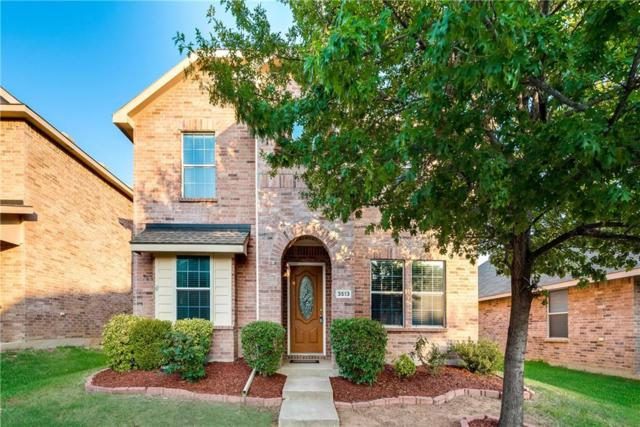 3513 San Lucas Lane, Denton, TX 76208 (MLS #13914117) :: Frankie Arthur Real Estate
