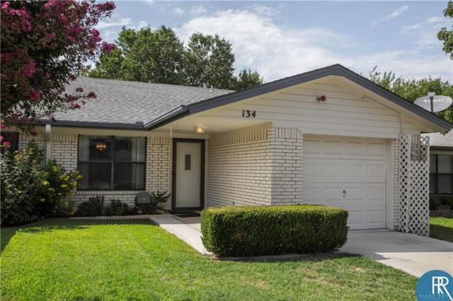 134 Rose Lane, Brownwood, TX 76801 (MLS #13914147) :: Team Tiller