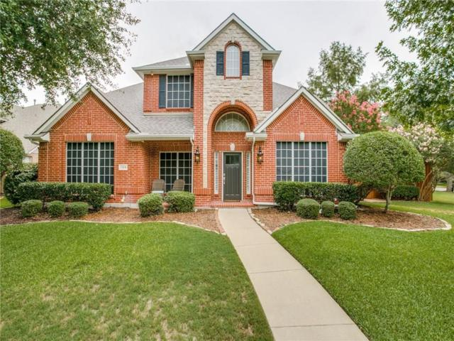 109 San Mateo Court, Allen, TX 75013 (MLS #13914229) :: Frankie Arthur Real Estate