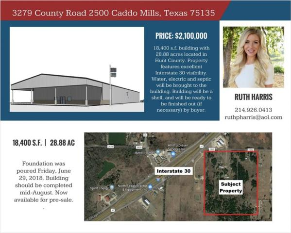 3279 County Rd 2500, Caddo Mills, TX 75135 (MLS #13914413) :: All Cities Realty