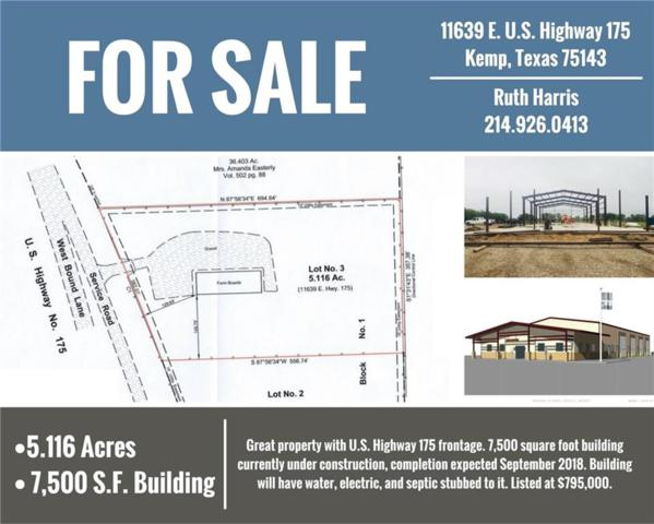 11639 E U.S. Highway 175, Kemp, TX 75143 (MLS #13914448) :: All Cities Realty