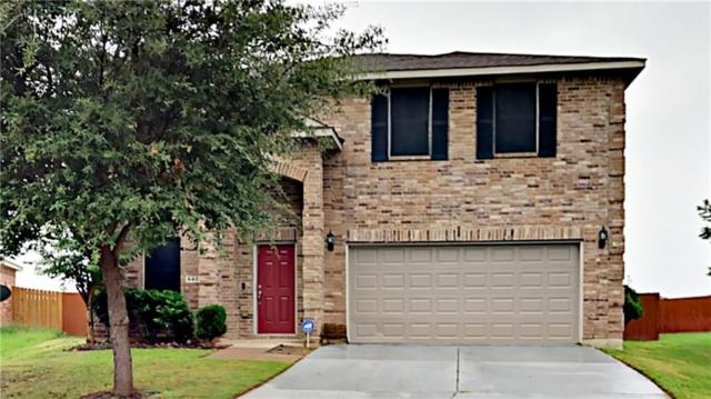 648 Brookbank Drive, Crowley, TX 76036 (MLS #13914782) :: Team Hodnett