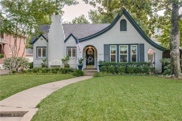 5330 Mercedes Avenue, Dallas, TX 75206 (MLS #13914822) :: The Hornburg Real Estate Group