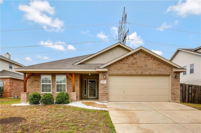 277 Kennedy Drive, Crowley, TX 76036 (MLS #13914913) :: Team Hodnett