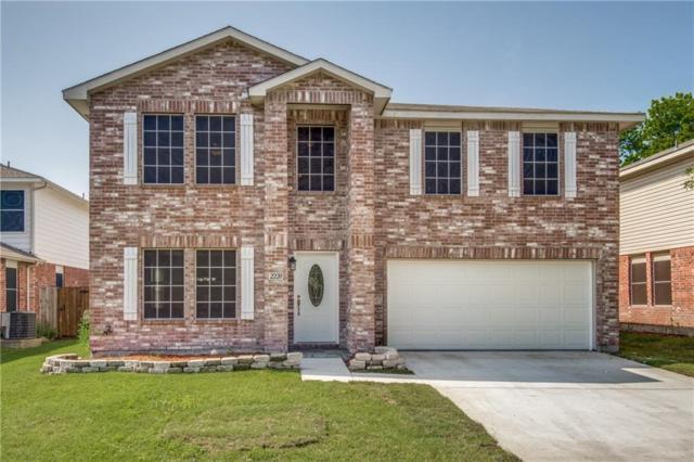 2220 Chestnut Drive, Little Elm, TX 75068 (MLS #13915622) :: The Real Estate Station