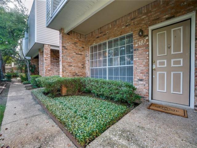 12921 Abrams Road #102, Dallas, TX 75243 (MLS #13916034) :: Team Hodnett