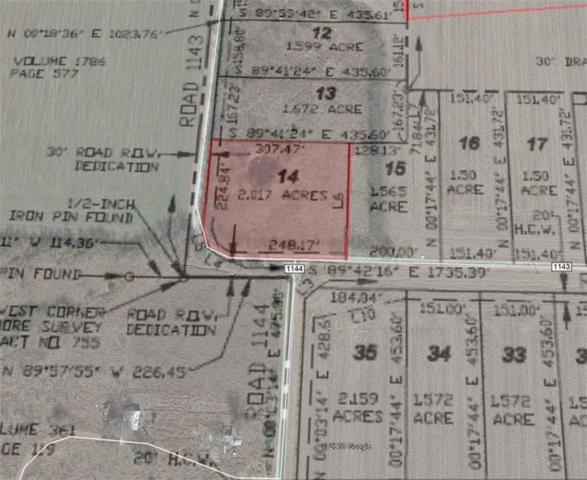 14 County Rd 1143, Leonard, TX 75452 (MLS #13918650) :: Frankie Arthur Real Estate