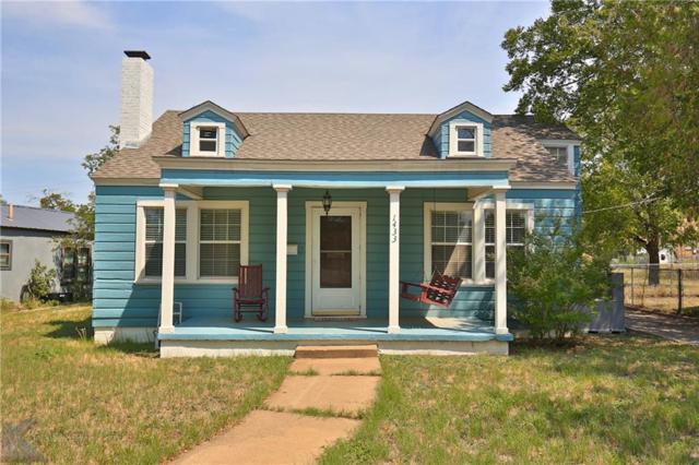 1433 Cedar Crest Drive, Abilene, TX 79601 (MLS #13918697) :: Robbins Real Estate Group