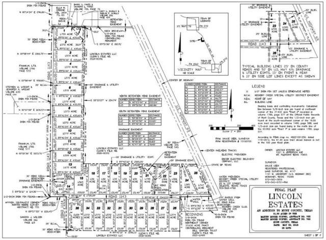 34 County Rd 1143, Leonard, TX 75452 (MLS #13920990) :: Robinson Clay Team