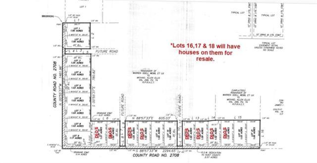 Lot 3 County Road 2708, Caddo Mills, TX 75135 (MLS #13924165) :: Robbins Real Estate Group