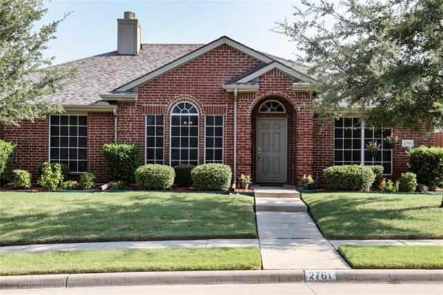 2761 Chalmers Court, Rockwall, TX 75032 (MLS #13924483) :: Robbins Real Estate Group