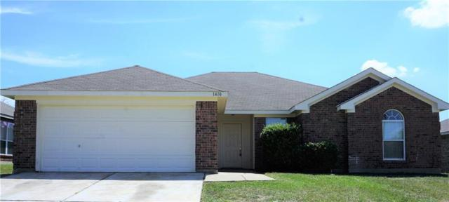 1410 Teal Way, Midlothian, TX 76065 (MLS #13925415) :: RE/MAX Town & Country
