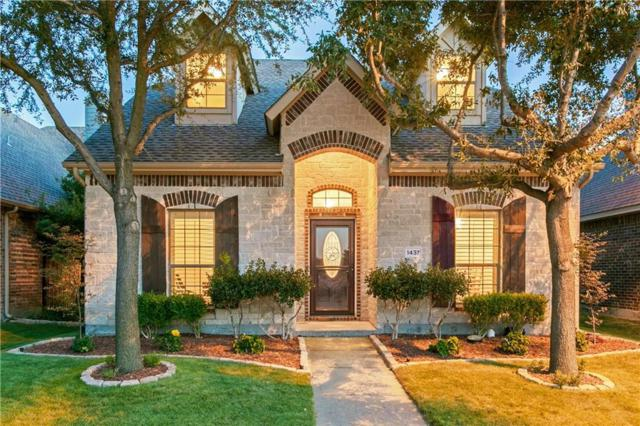 1437 Snowberry Drive, Allen, TX 75013 (MLS #13925506) :: RE/MAX Town & Country