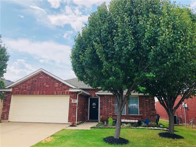 2817 Spotted Owl Drive, Fort Worth, TX 76244 (MLS #13925535) :: Frankie Arthur Real Estate