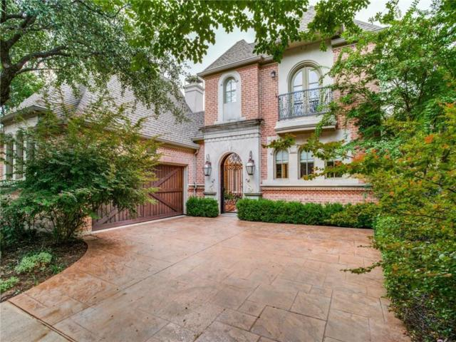 11828 Brookhill Lane, Dallas, TX 75230 (MLS #13925536) :: RE/MAX Landmark