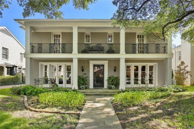 4549 Rheims Place, Highland Park, TX 75205 (MLS #13925592) :: North Texas Team | RE/MAX Advantage