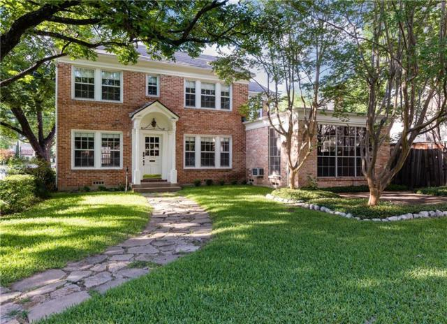 3548 Mcfarlin Boulevard, University Park, TX 75205 (MLS #13926993) :: The Rhodes Team