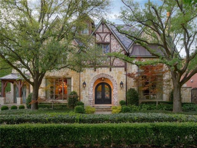 3650 University Boulevard, University Park, TX 75205 (MLS #13927488) :: Team Hodnett