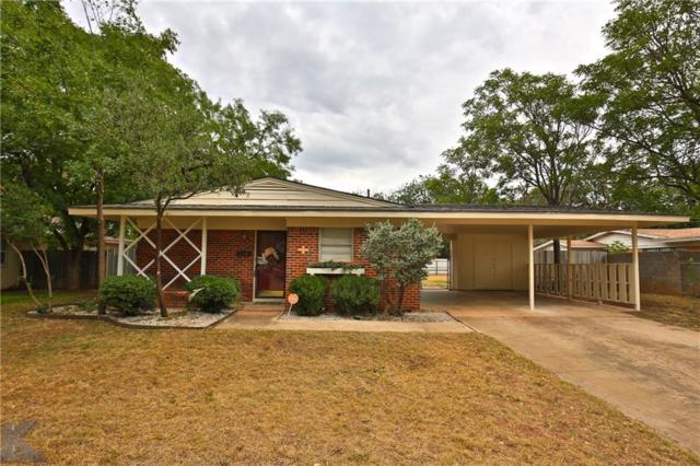 1425 Bel Air Drive, Abilene, TX 79603 (MLS #13927706) :: The Tonya Harbin Team