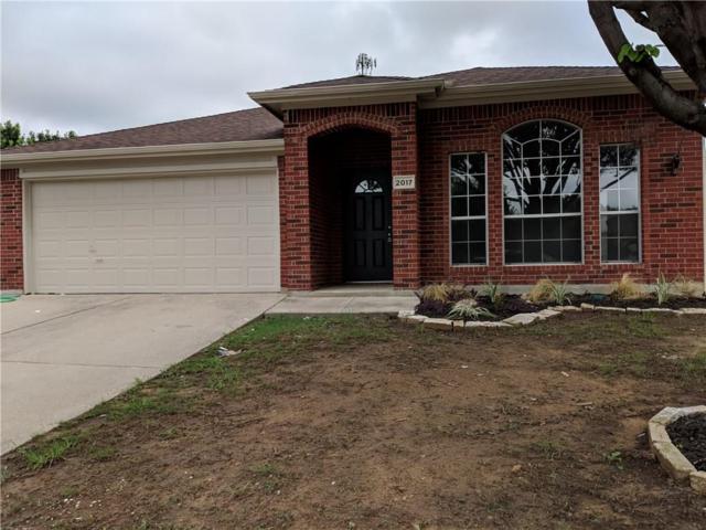 2017 Waterview Drive, Little Elm, TX 75068 (MLS #13928370) :: RE/MAX Landmark