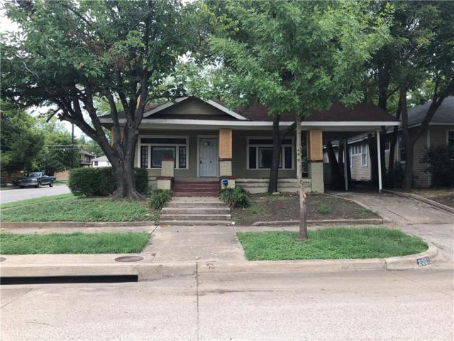 2001 Hurley Avenue, Fort Worth, TX 76110 (MLS #13928903) :: The Chad Smith Team