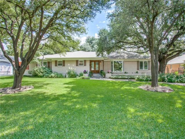 6914 Northaven Road, Dallas, TX 75230 (MLS #13929812) :: Robbins Real Estate Group