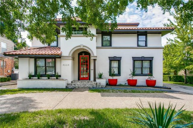 4669 Mockingbird Lane, Highland Park, TX 75209 (MLS #13930852) :: Frankie Arthur Real Estate