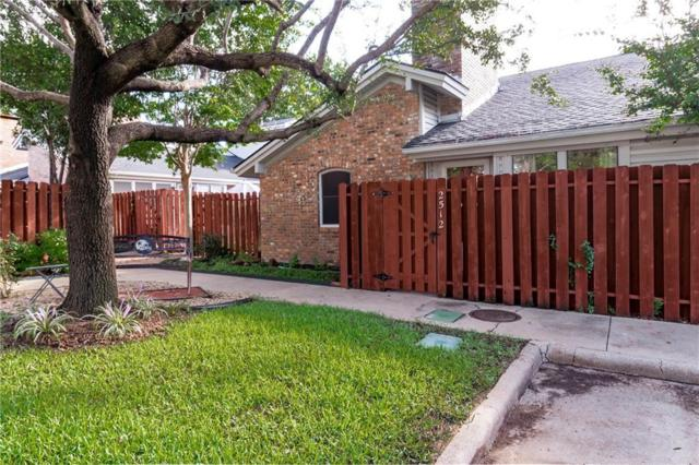2512 Shady Ridge Drive, Bedford, TX 76021 (MLS #13931153) :: Team Tiller