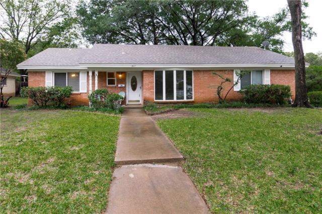 801 Canyon Ridge Drive, Euless, TX 76040 (MLS #13932523) :: The Chad Smith Team