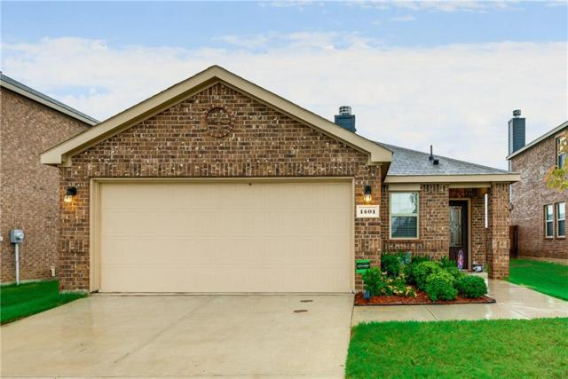 1401 Silver Lane, Aubrey, TX 76227 (MLS #13932756) :: The Real Estate Station
