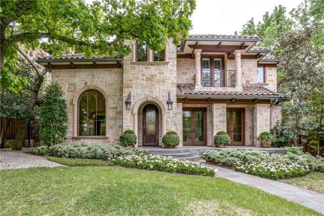 3707 Princeton Avenue, Highland Park, TX 75205 (MLS #13933458) :: NewHomePrograms.com LLC