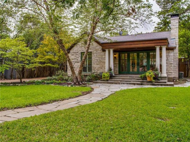4316 N Cresthaven Road, Dallas, TX 75209 (MLS #13934230) :: The Chad Smith Team
