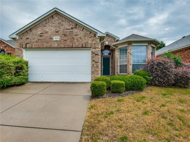4028 Claymore Lane, Fort Worth, TX 76244 (MLS #13935025) :: Baldree Home Team