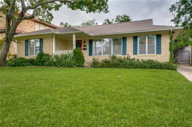 6644 Blue Valley Lane, Dallas, TX 75214 (MLS #13935063) :: RE/MAX Town & Country